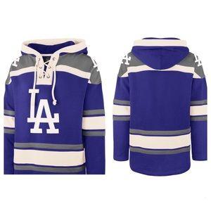 New LA Dodgers Hockey Style Sweatshirt XL